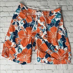 Men's Old Navy Hawaiian Swim Trunks Size L